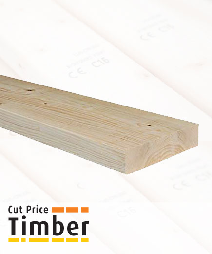 195mm x 45mm Treated C16 Timber Joist image